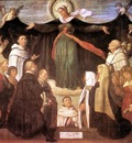 MORETTO da Brescia The Virgin Of Carmel