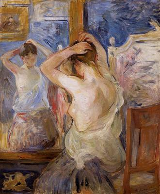 Morisot Berthe Before the Mirror