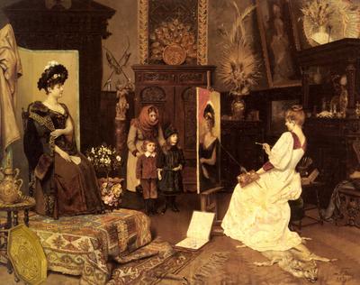 Stifter Moritz Im Atelier