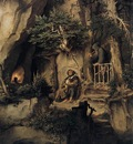 SCHWIND Moritz von A Player With A Hermit