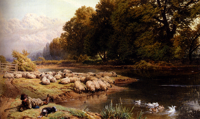 Foster Myles Birket The Shepherds Rest
