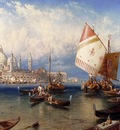 Foster Myles Birket A market Day On The Giudecca Venice