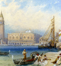Foster Myles Birket St Marks and The Ducal Palace From San Giorgio Maggiore