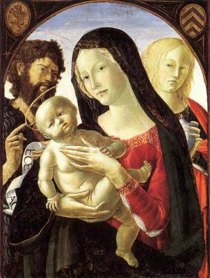 NEROCCIO DE LANDI Madonna And Child With St John The Baptist