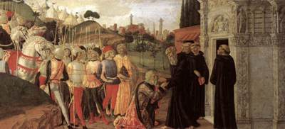 neroccio de landi three episodes from the life of st benedict