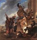 BERCHEM Nicolaes Merchant Receiving A moor In The Harbour