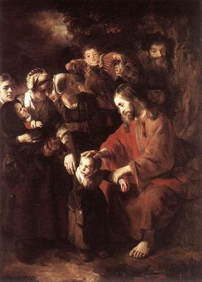 MAES Nicolaes Christ Blessing the Children