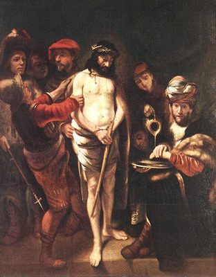 MAES Nicolaes Christ before Pilate