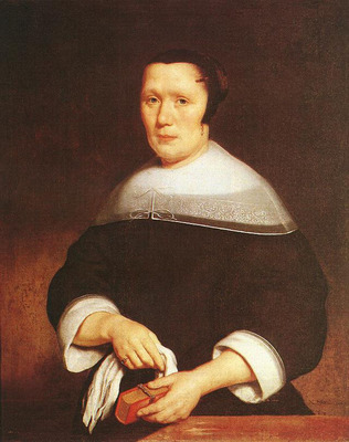 MAES Nicolaes Portrait of a Woman