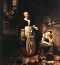 MAES Nicolaes The Idle Servant