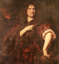 Maes Nicolaes Portrait Of Laurence Hyde Earl Of Rochester