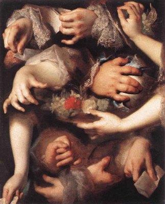 LARGILLIERE Nicolas de Study Of Hands