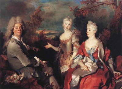 LARGILLIERE Nicolas de The Artist And His Family