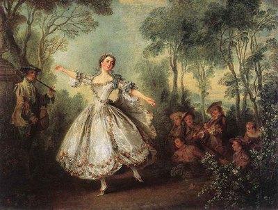 LANCRET Nicolas Mademoiselle De Camargo Dancing