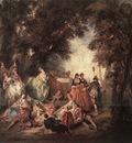 LANCRET Nicolas Company In The Park