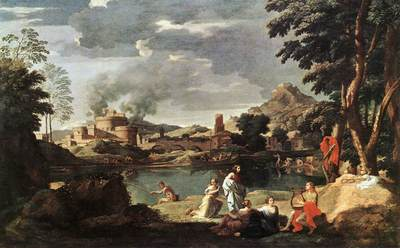 Landscape with Orpheus and Euridice EUR