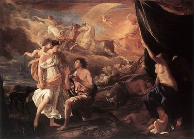 Poussin Selene and Endymion
