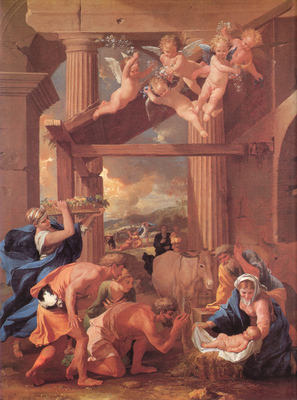 Poussin The Adoration of the Shepherds