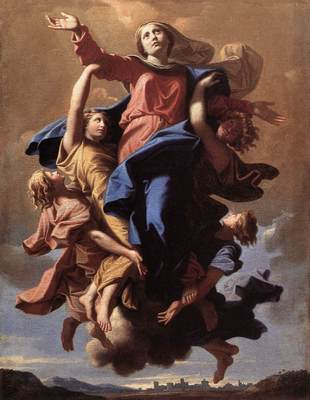 Poussin The Assumption of the Virgin