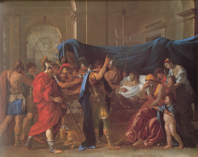Poussin The Death of Germanicus