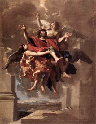 Poussin The Ecstasy of St Paul