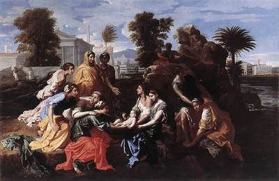 Poussin The Finding of Moses