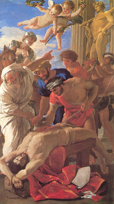 Poussin The Martyrdom of St Erasmus