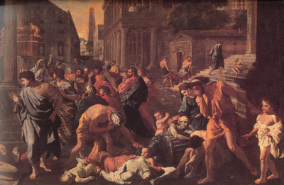 Poussin The Plague of Ashdod