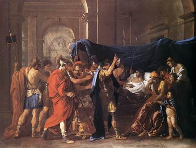The death of Germanicus EUR