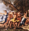 Bacchanal before statue EUR