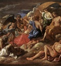 Poussin Helios and Phaeton with Saturn and the Four Seasons