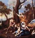 Poussin The Nurture of Jupiter