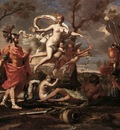 Poussin Venus Presenting Arms to Aeneas