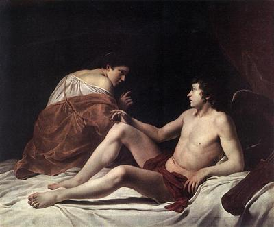 GENTILESCHI Orazio Cupid And Psyche