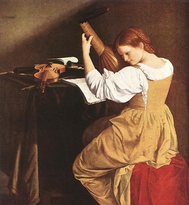 GENTILESCHI Orazio Lute Player