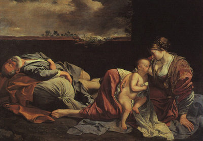 GENTILESCHI Orazio Rest On The Flight Into Egypt