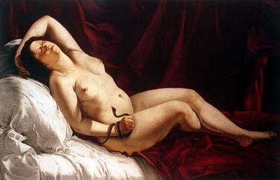 gentileschi orazio cleopatra