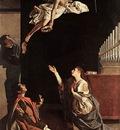 GENTILESCHI Orazio Sts Cecilia Valerianus And Tiburtius