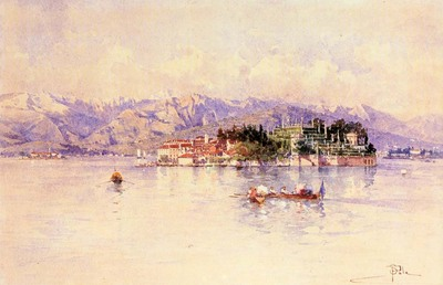 Sala Paolo Boating On Lago maggiore Isola Bella Beyond