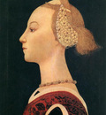 UCCELLO Paolo Portrait Of A Lady