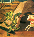 uccello paolo st george and the dragon 1458