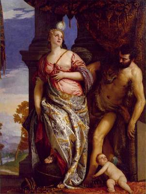Veronese Allegory of Wisdom and Strength