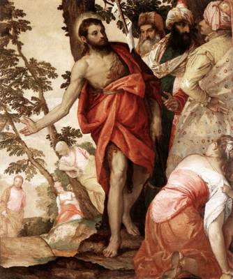 Veronese St John the Baptist Preaching