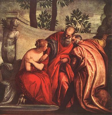 Veronese Susanna in the Bath