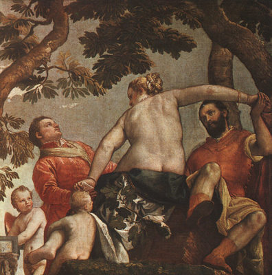 Veronese The Allegory of Love Unfaithfulness
