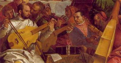 Veronese The Marriage at Cana detail2