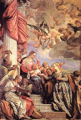 Veronese The Marriage of St Catherine