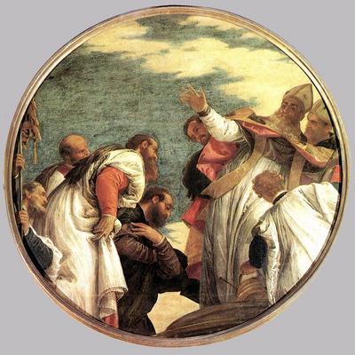 Veronese The People of Myra Welcoming St  Nicholas
