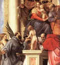 Veronese Madonna Enthroned with Saints