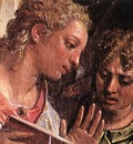 Veronese The Marriage of St Catherine detail1